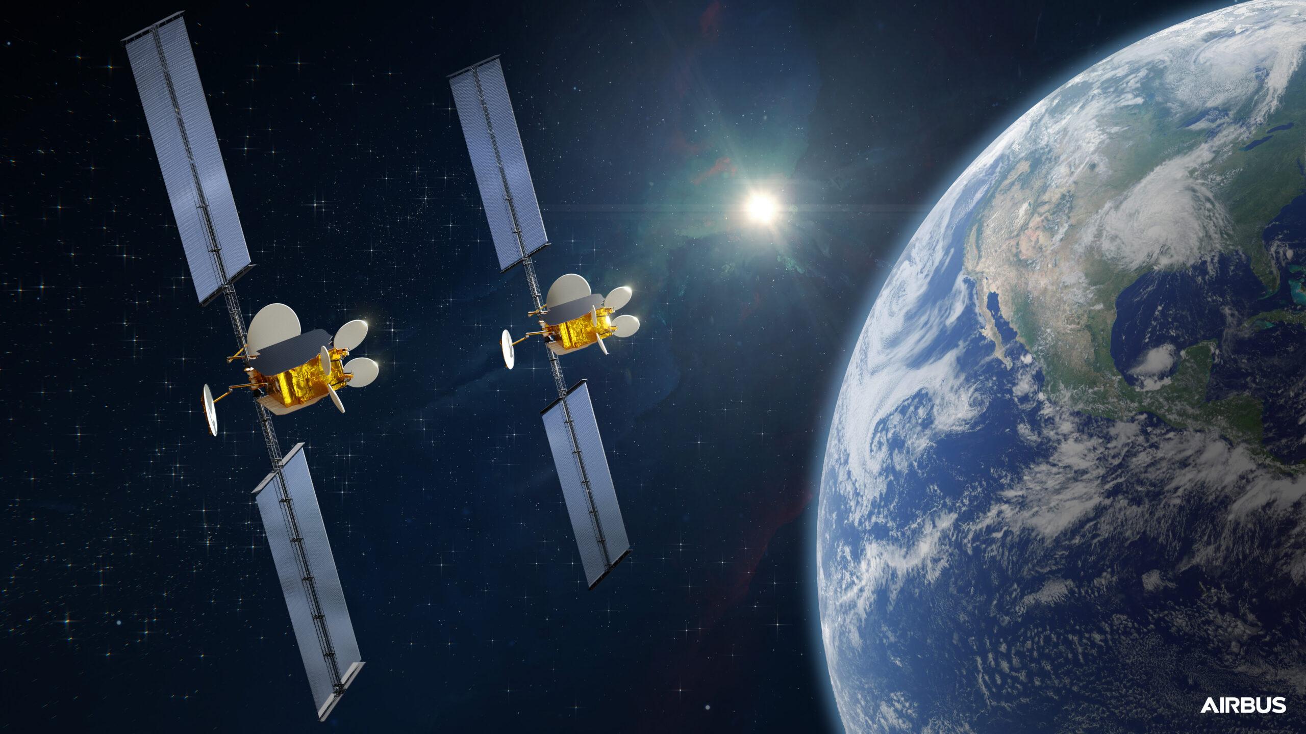 Airbus Mulltisatelite Intelsat OneSat
