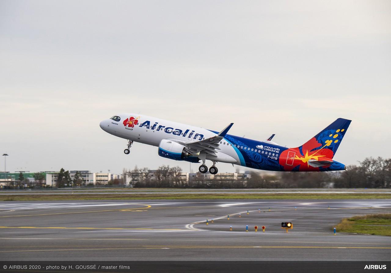 Aircalin Airbus A320neo PW