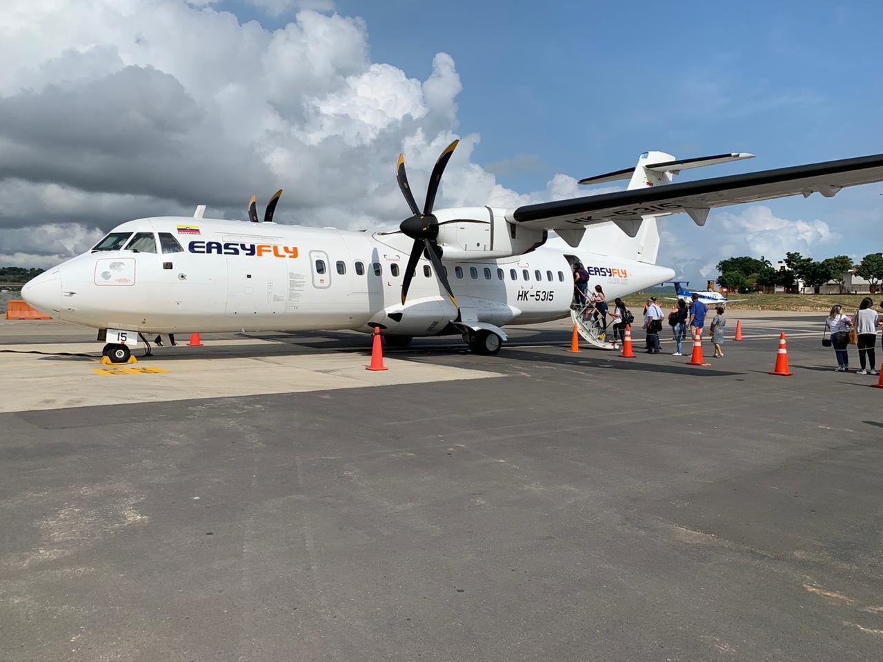 Easyfly FLOTA ATR