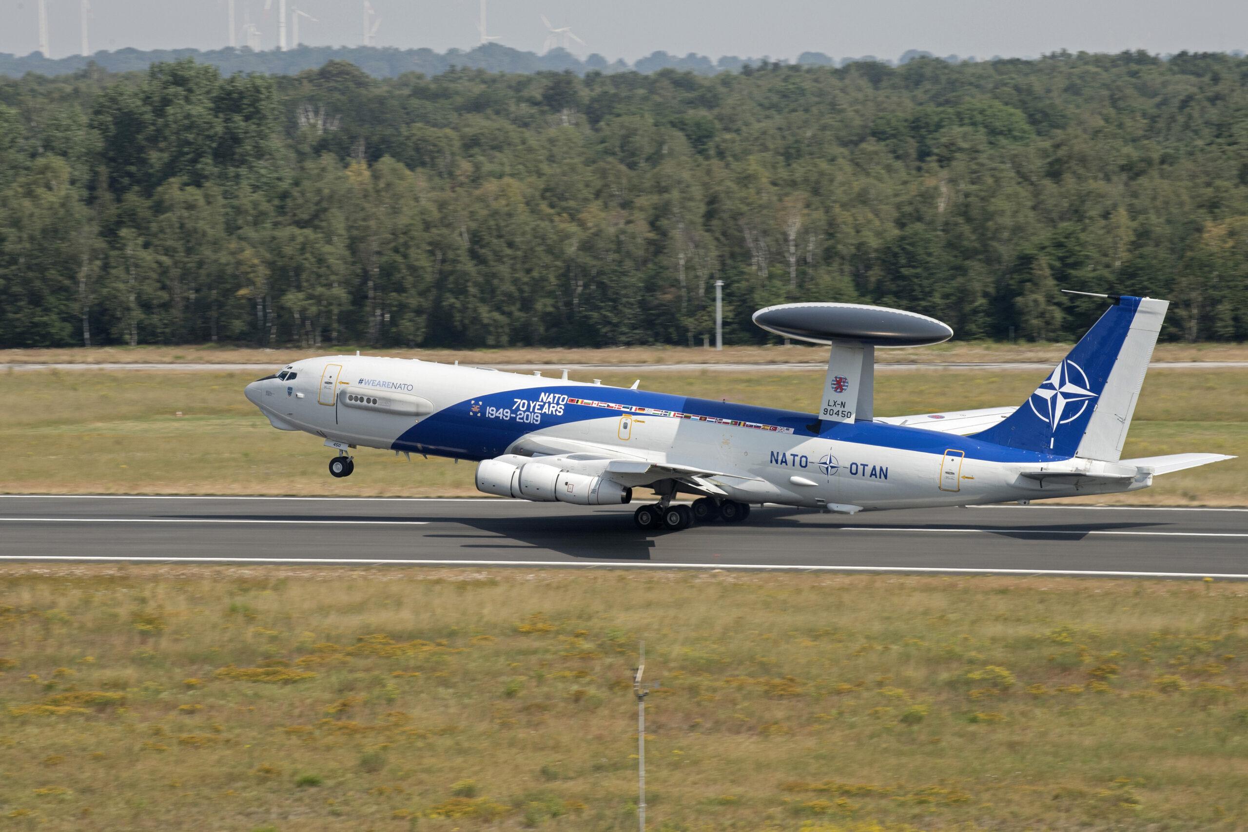 70 years NATO aircraft
