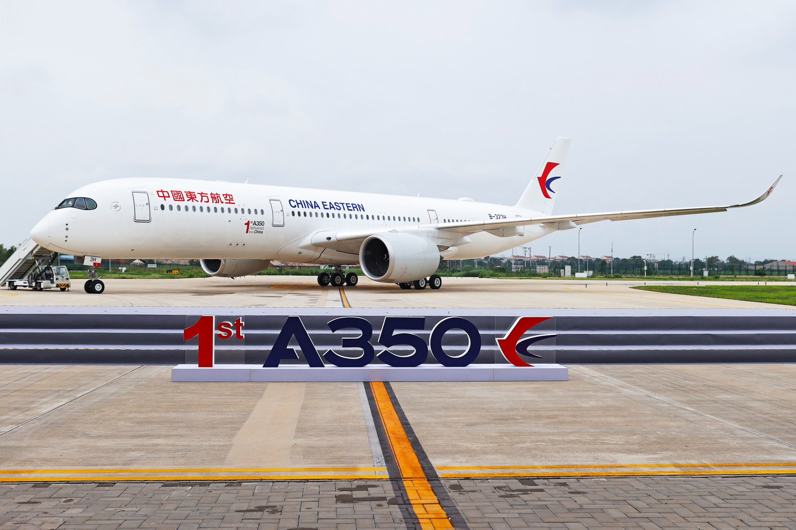 Airbus A350 China Eastern 1