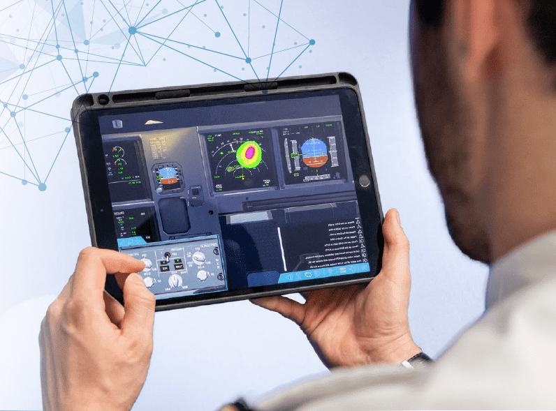 Airbus entrenamiento pilotos nube